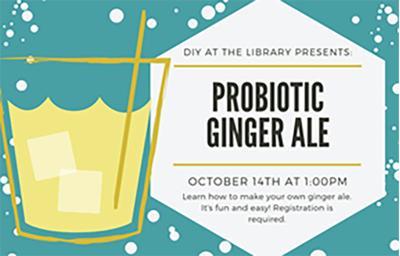DIY probiotic ginger ale