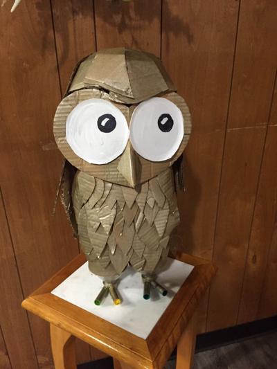 Wilbur the Wildlife Day Owl Bethel Middle - RYAO 2018