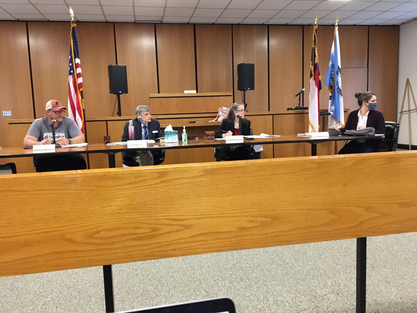 Canton governing board
