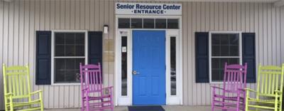 Haywood County SRC entrance in Waynesville.