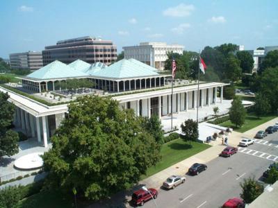 The NC Legislative Building in Raleigh
