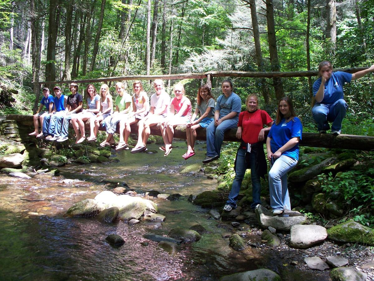 Students at Cataloochee Valley