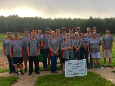 Bulls Eye 4-H Shooting Sports at West District Competition