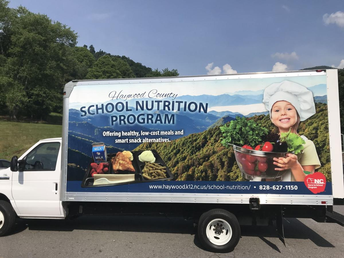 school cafeteria truck