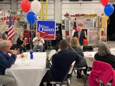 Joe Sam Queen running for re-election