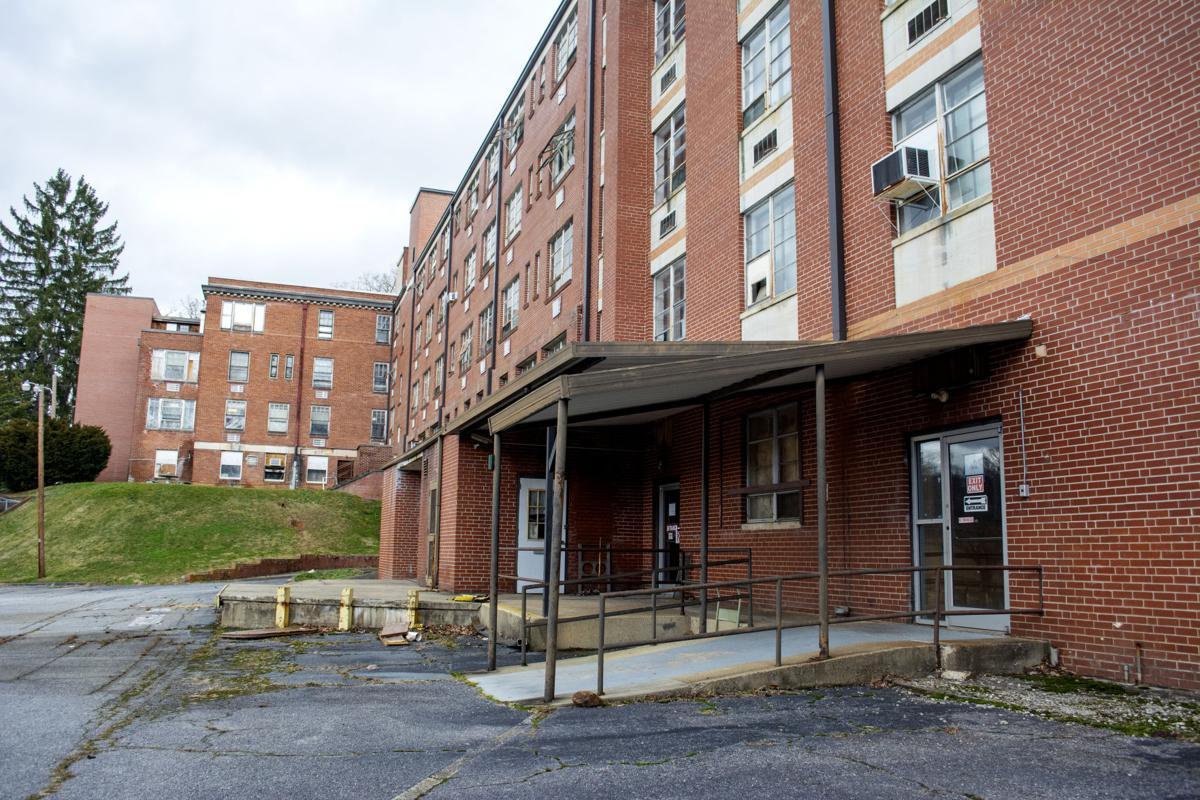 Old hospital loading dock