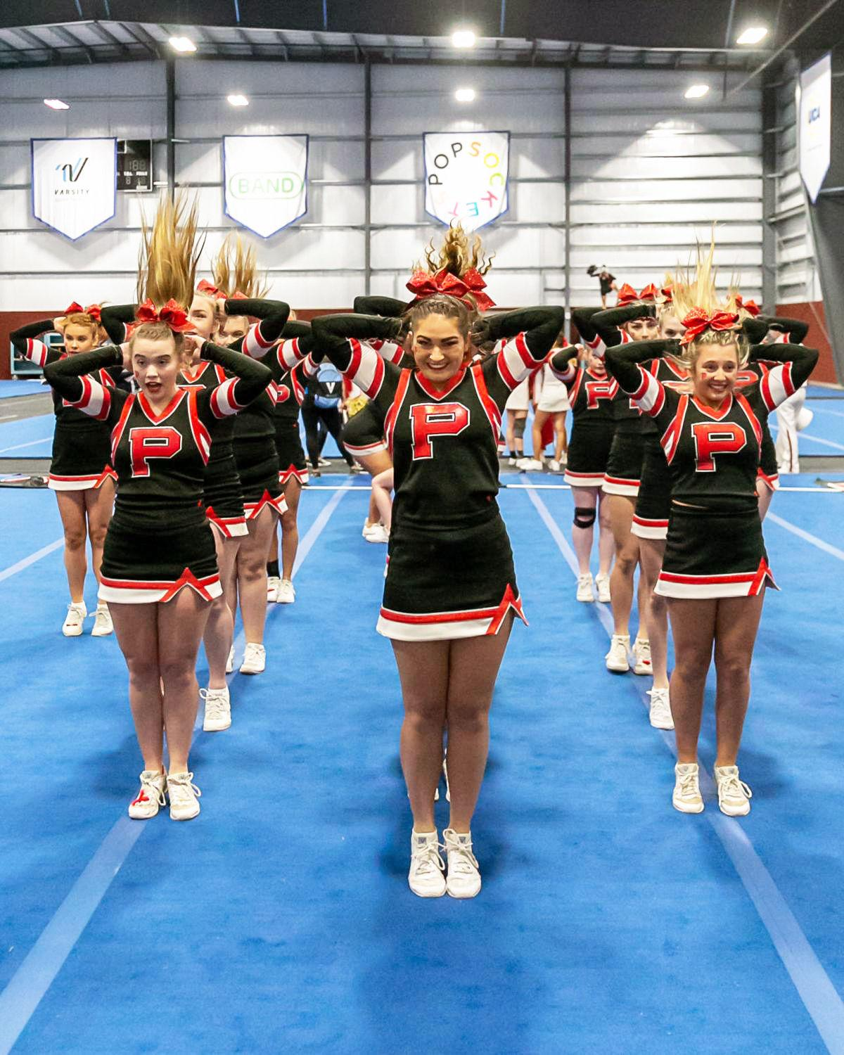 Pisgah cheerleading ends unforgettable year with trip to nationals