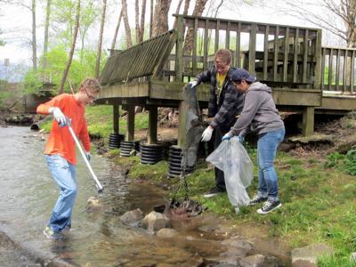 Richland Creek cleanup