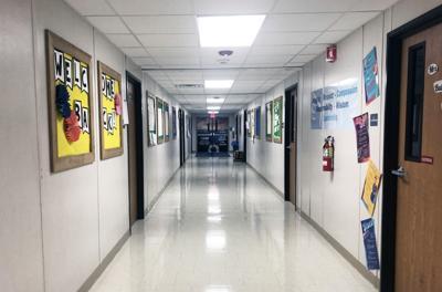 Shining Rock hallway