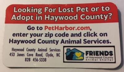 Friends of Haywood County Animal Shelter