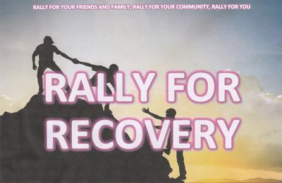 Rally for Recovery graphic