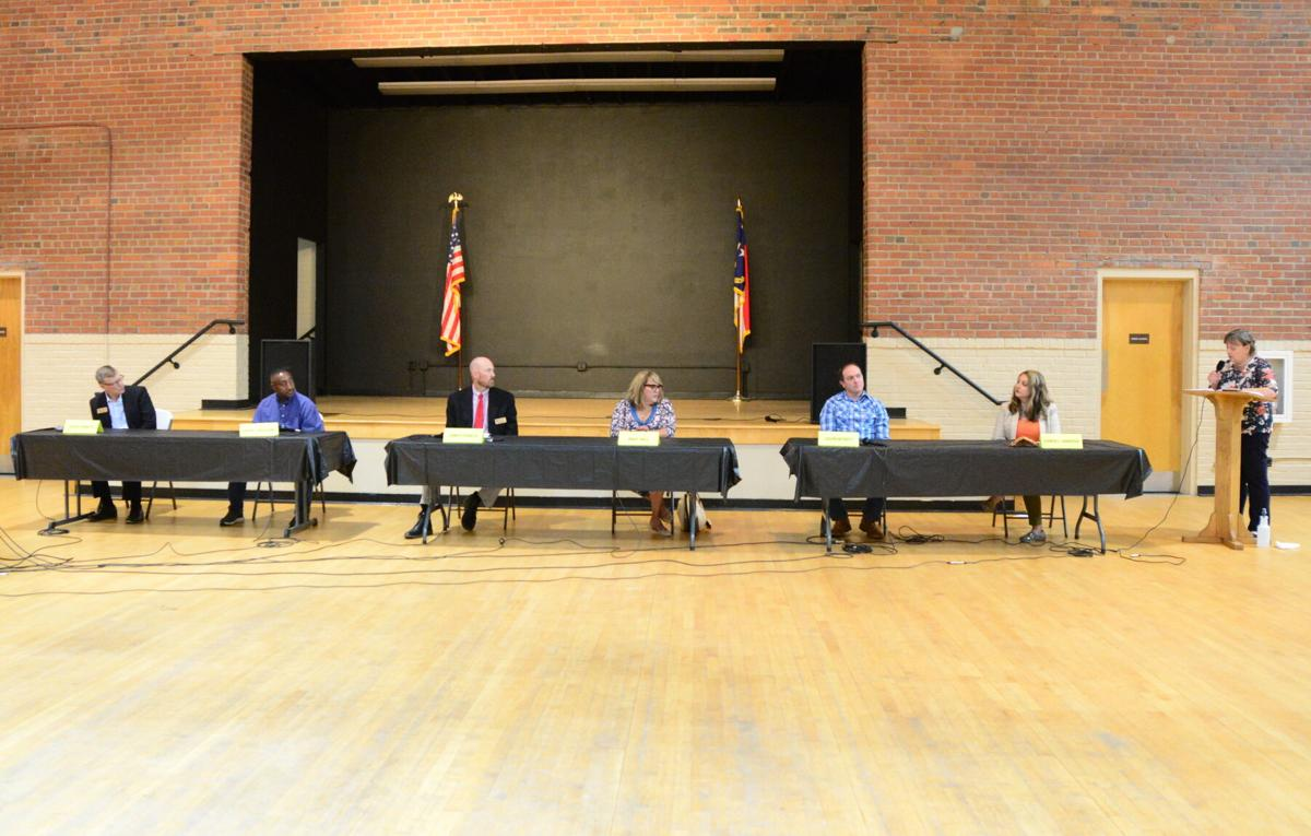 school board candidate forum.JPG
