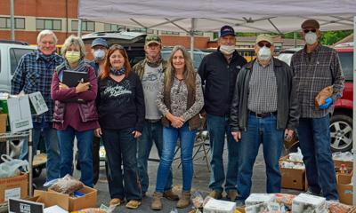 Bethel Rural Community Organization food pantry volunteers
