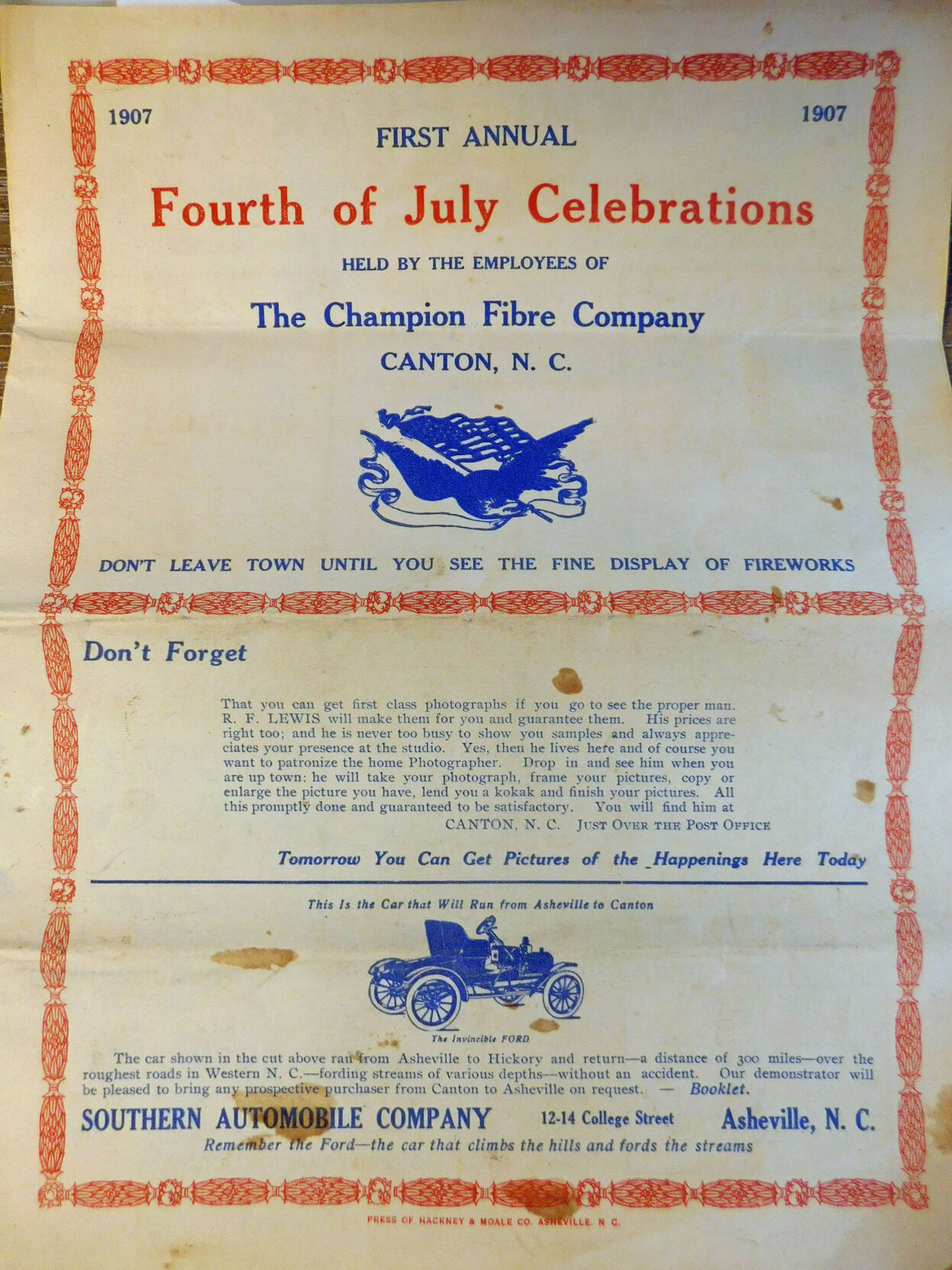 Fourth of July, Canton