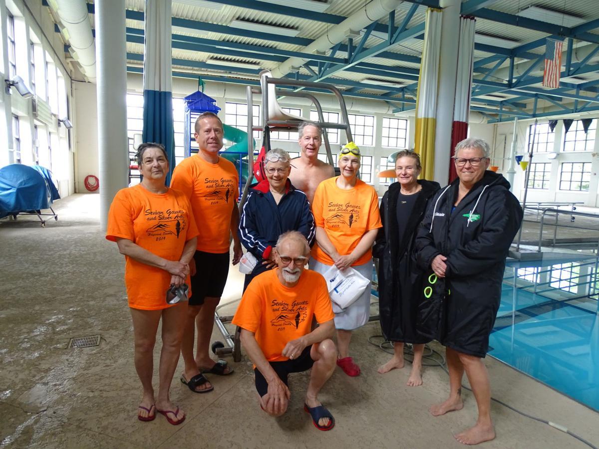 Senior Games 2019 swimming