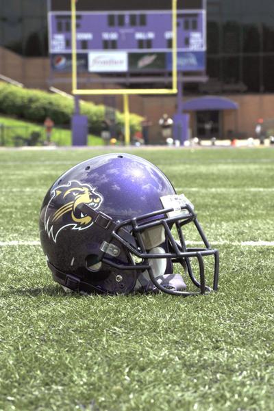 Western Carolina unveils new helmet