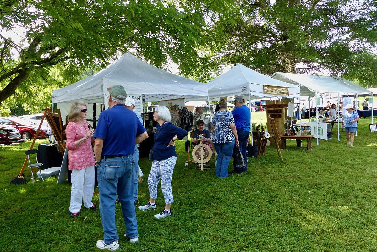 Shelton House Campus inaugural Blue Ridge Heritage Weekend June 2019