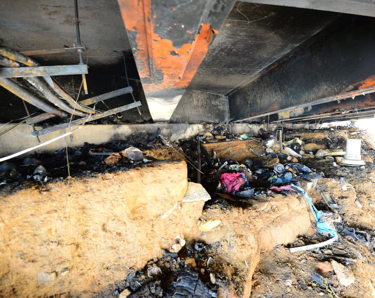 bridge fire charred mess 2.JPG