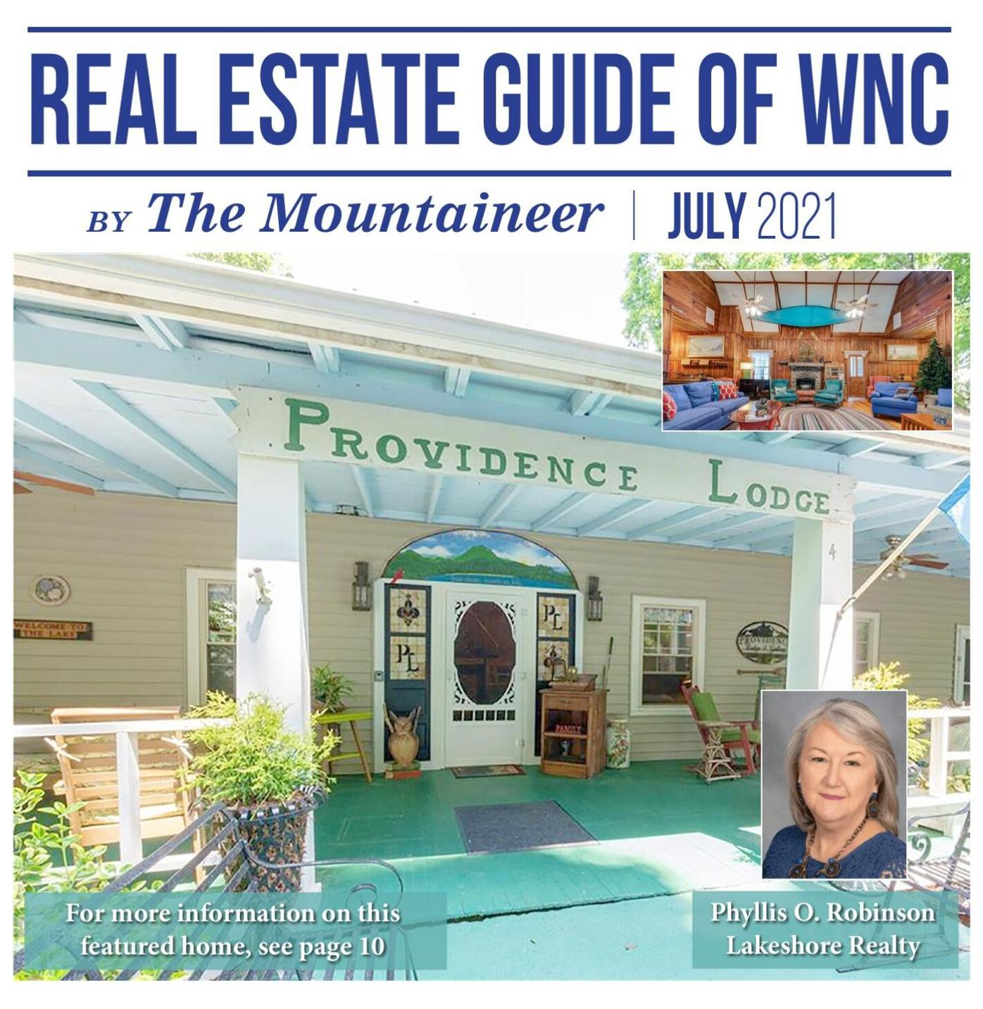 Real Estate Guide of WNC July 2021