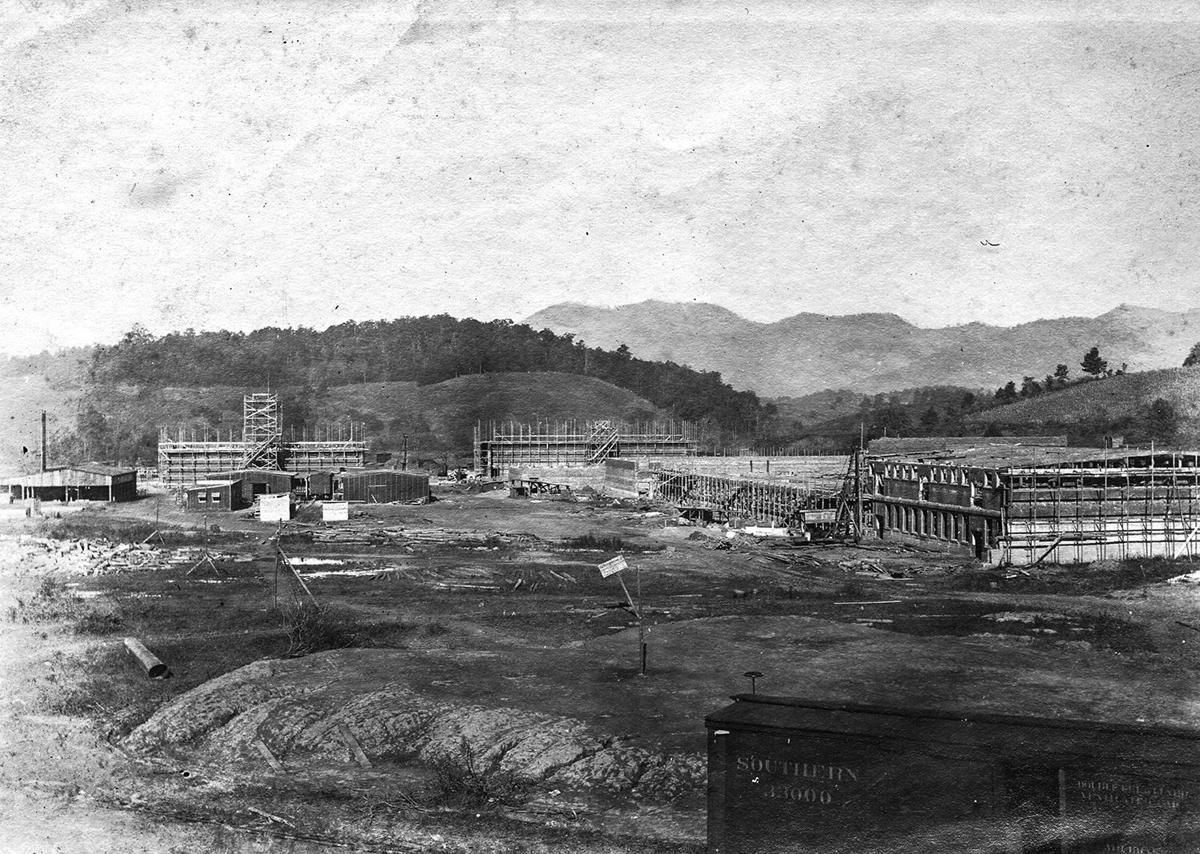 Mill construction 1906