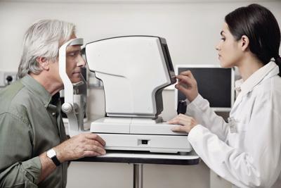 Eye Examination Through Visual Field Test
