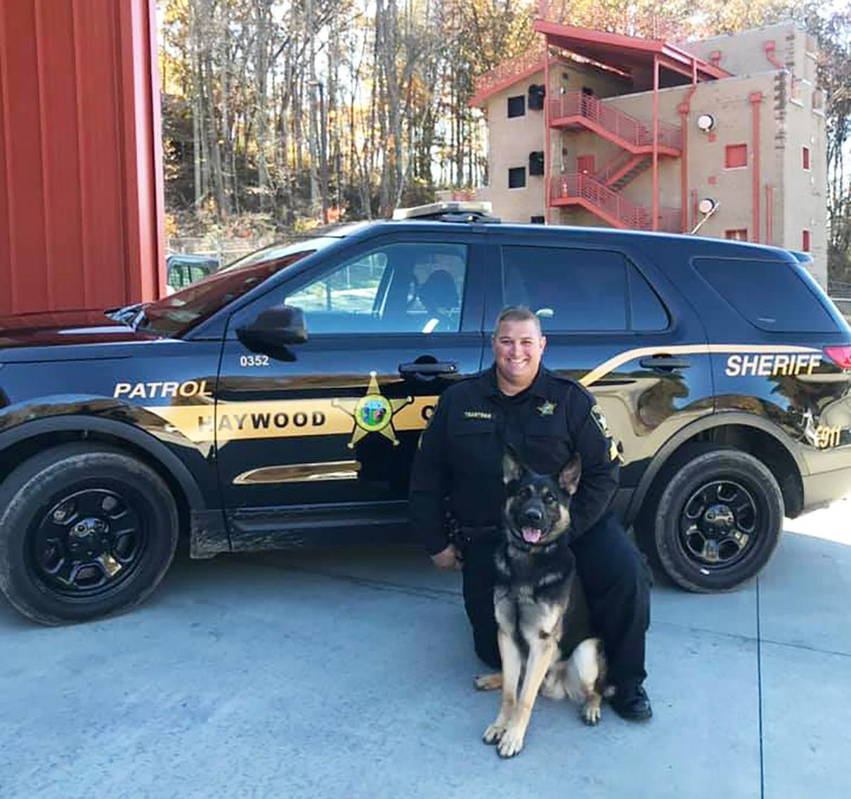 Sgt. Matthew Trantham and K9 Kilo