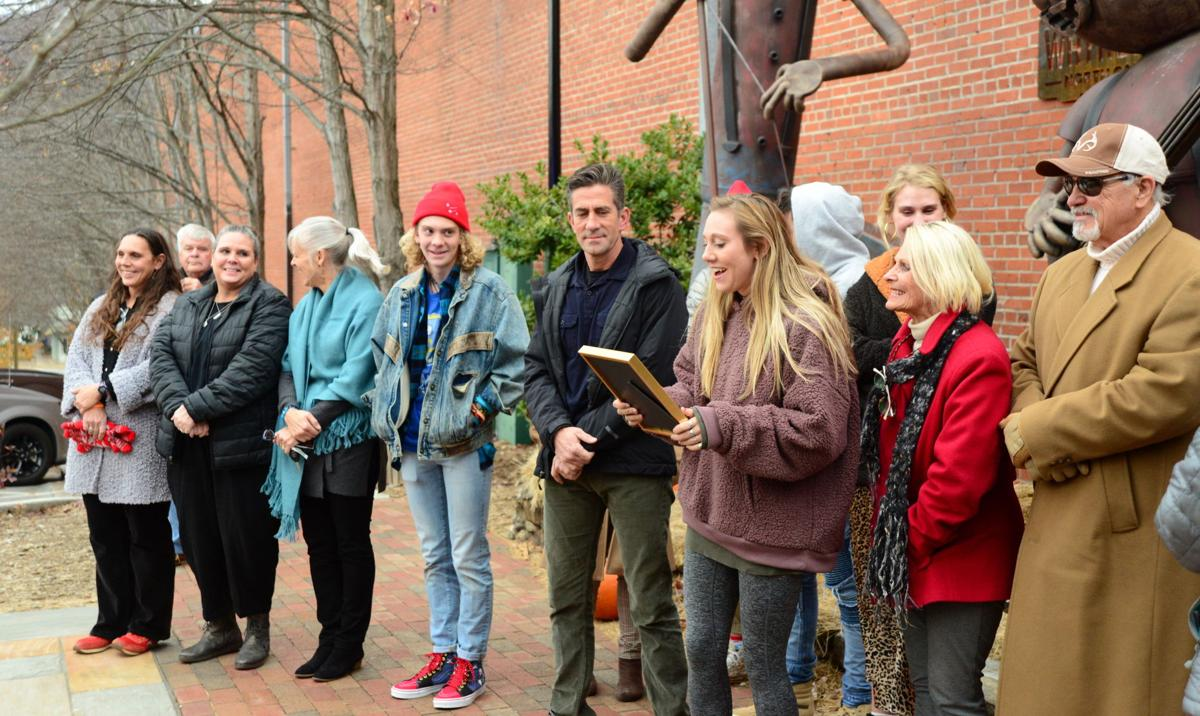 riley howell tree dedication 1.JPG