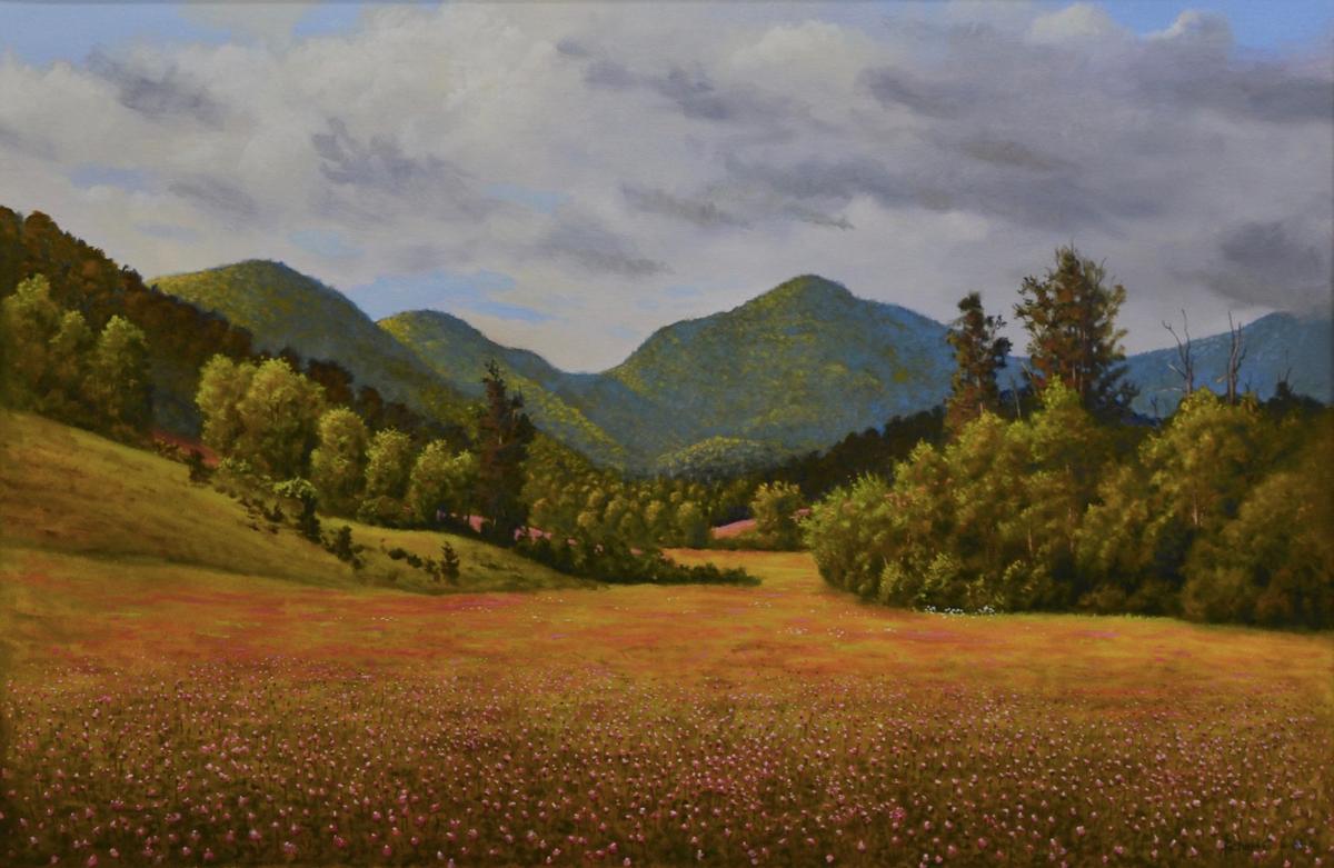Art After Dark: Newfound Mountain by Richard Baker