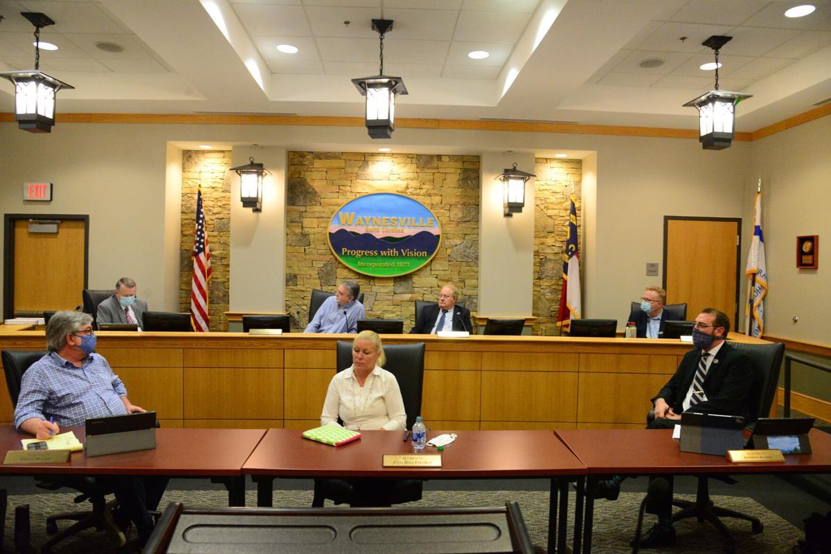 waynesville town board.JPG