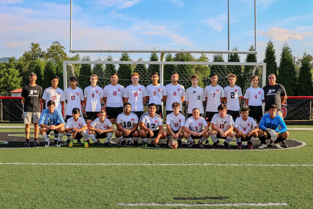 Pisgah Bears Men's Varsity Soccer Team 2019