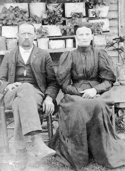 Robert Henry Sorrells and Harriet Edwards Sorrells