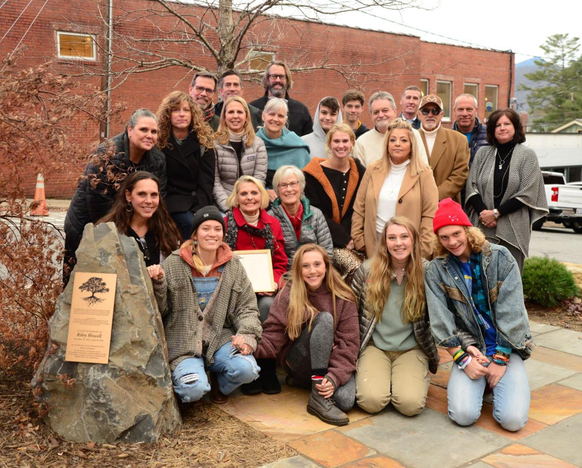 riley howell tree dedication group shot.JPG