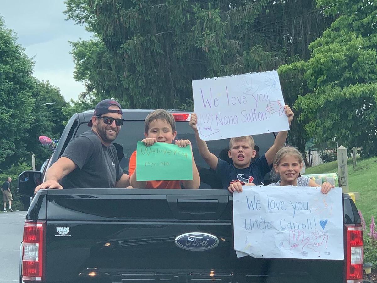 Haywood Lodge drive-thru parade
