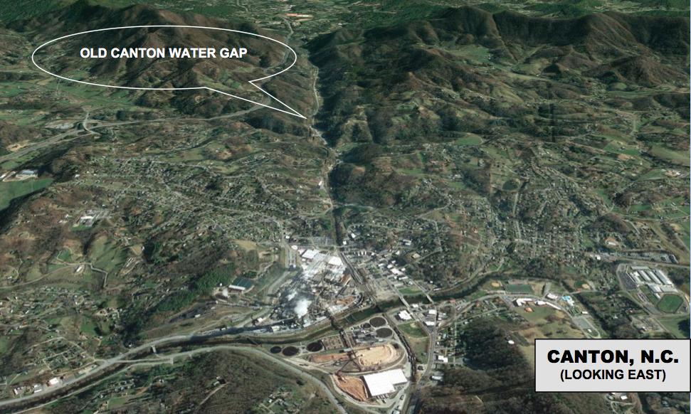 Canton water gap