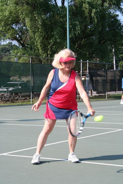 Senior Tennis time
