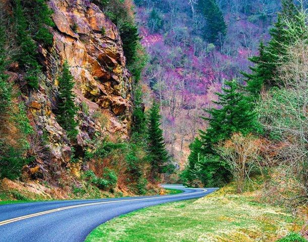 Blue Ridge Parkway.