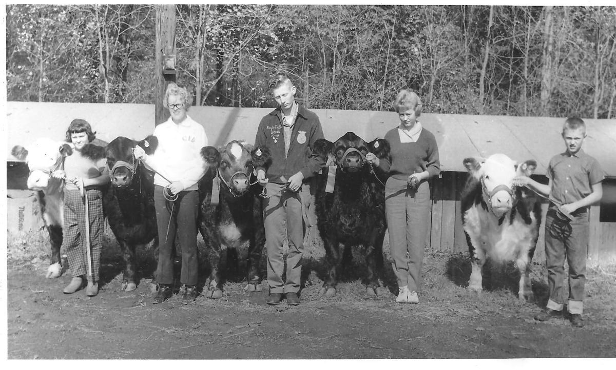 1961 cattle showmen and women