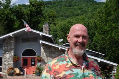 Meadowlark Motel owner Joseph McElroy.