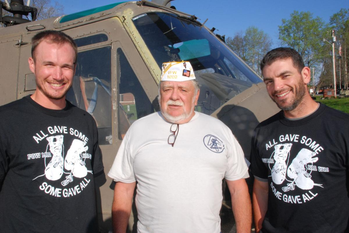Vets hike for wounded comrades