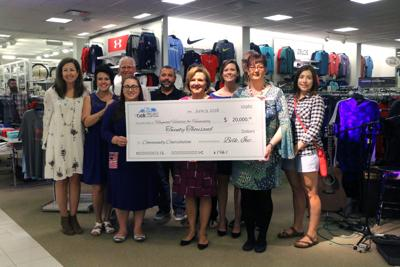 624dae801cb Belk honors Waynesville store on anniversary tour