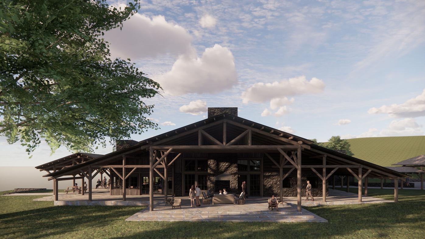 Cataloochee Ranch exterior rendering