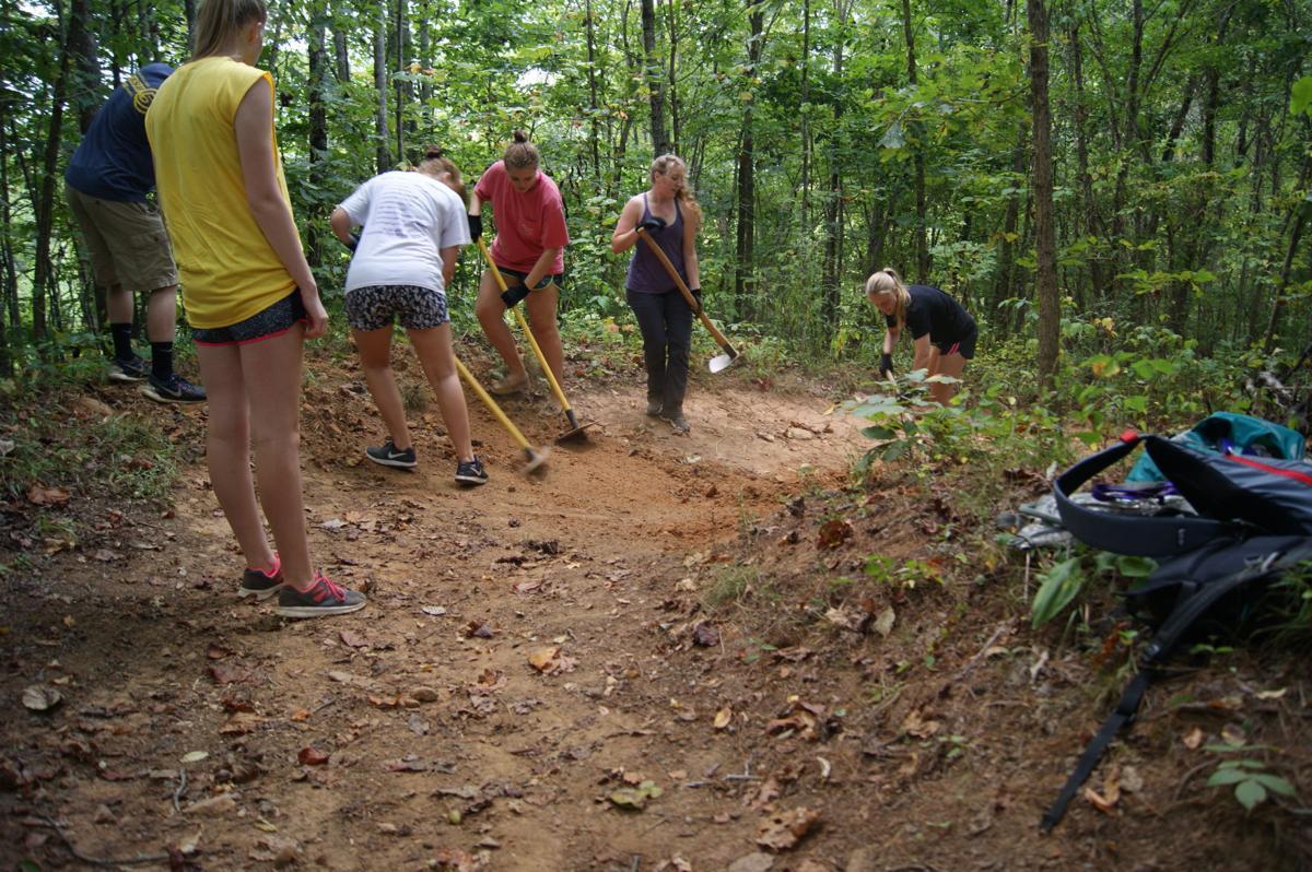 Basecamp trail day 2016