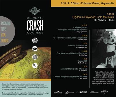 Folkmoot Cultural Crash Courses poster