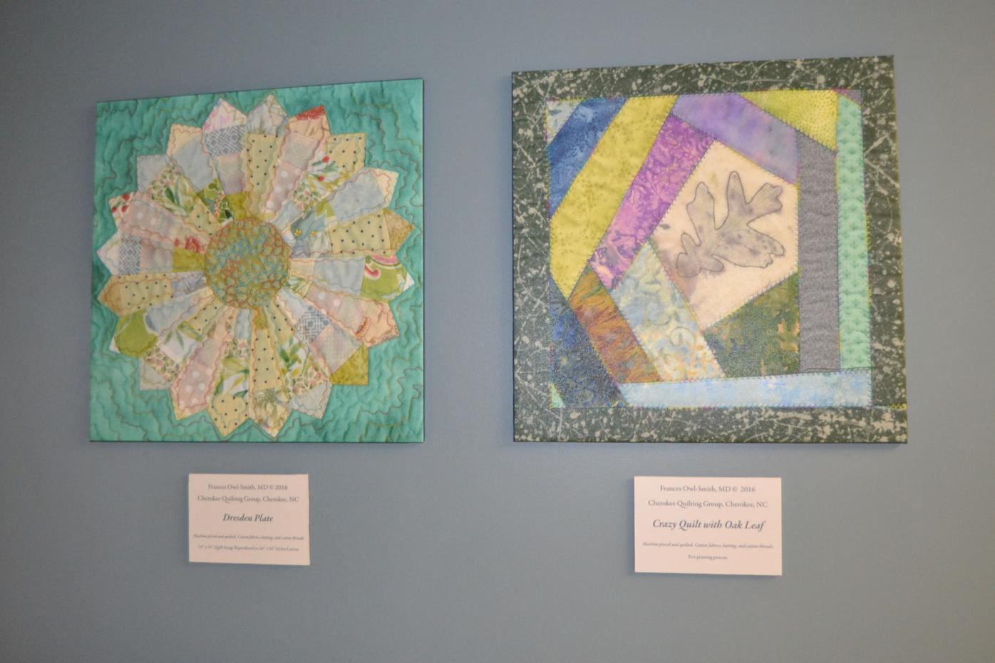 Frances Owl-Smith quilt blocks