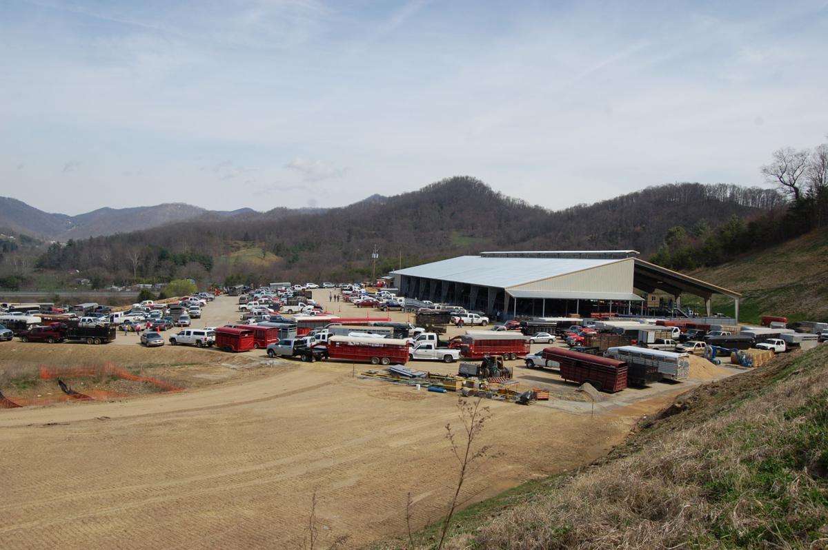 WNC Livestock center distance view