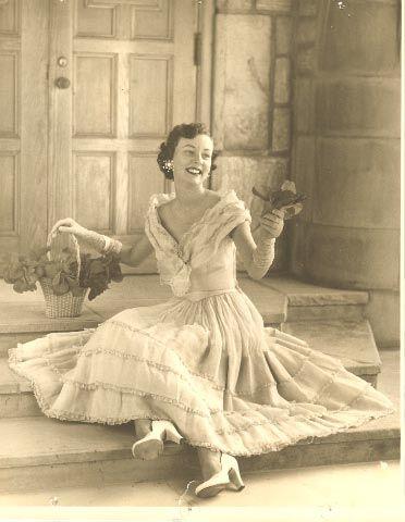 Lucy Adams in queen quest