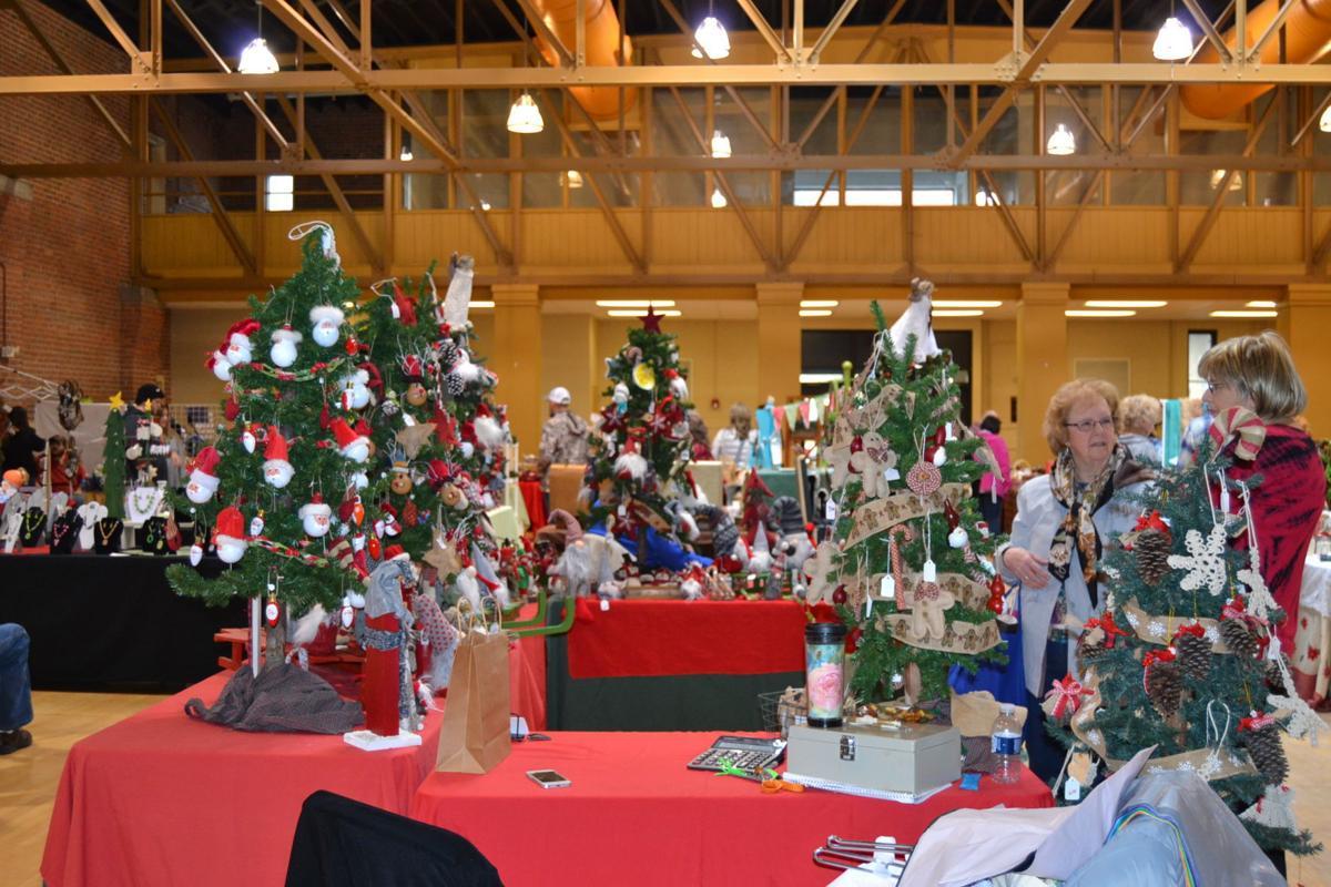 Christmas glitter Papertown Craft Fair 2018