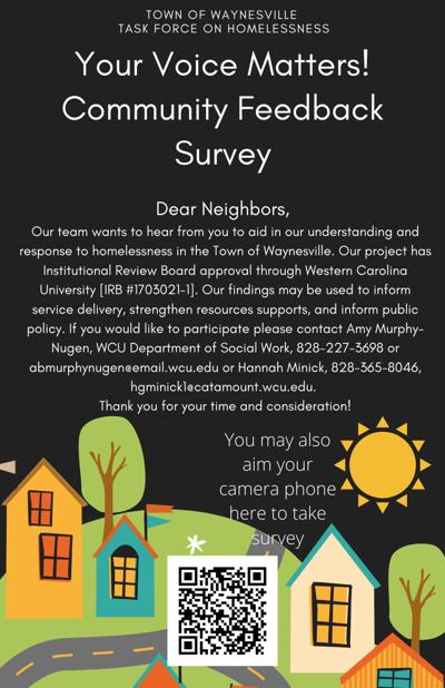 QR Code_TOW TF on Homelessness_Community Feedback Survey