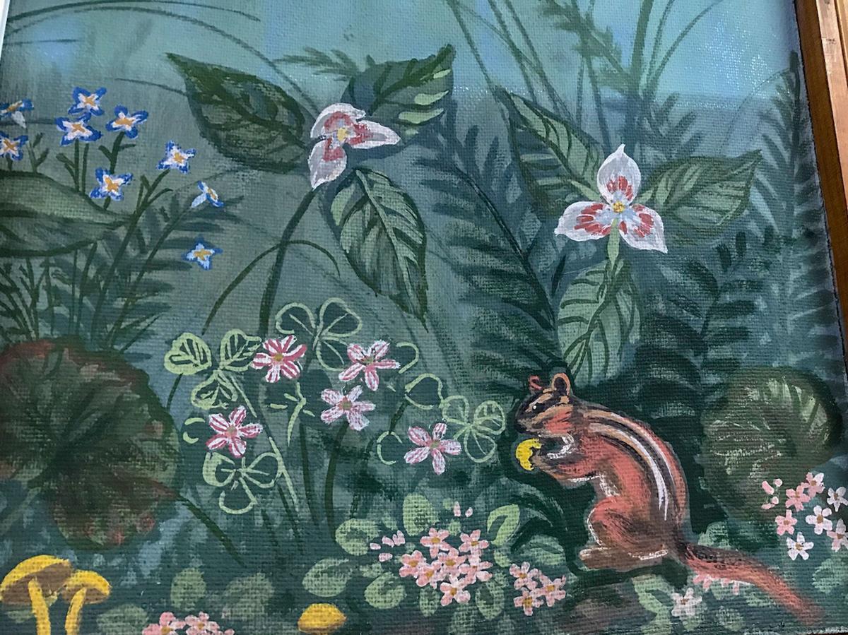 canton mural squirrel