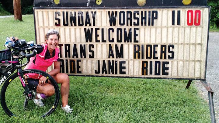 Janie Hayes in Radford, Va.